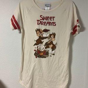 Disney Chipmunks Sleep Shirt